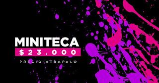 AMOR DE COLEGIO: LUNADA VS MINITECA 4