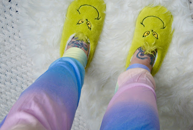 Primark grinch slippers