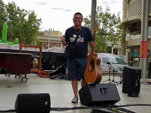 Siantarman Lantumkan Lagu Kisah Kasih di Sekolah dan Goyang Panggung Kreasi Indonesia Perth Australia