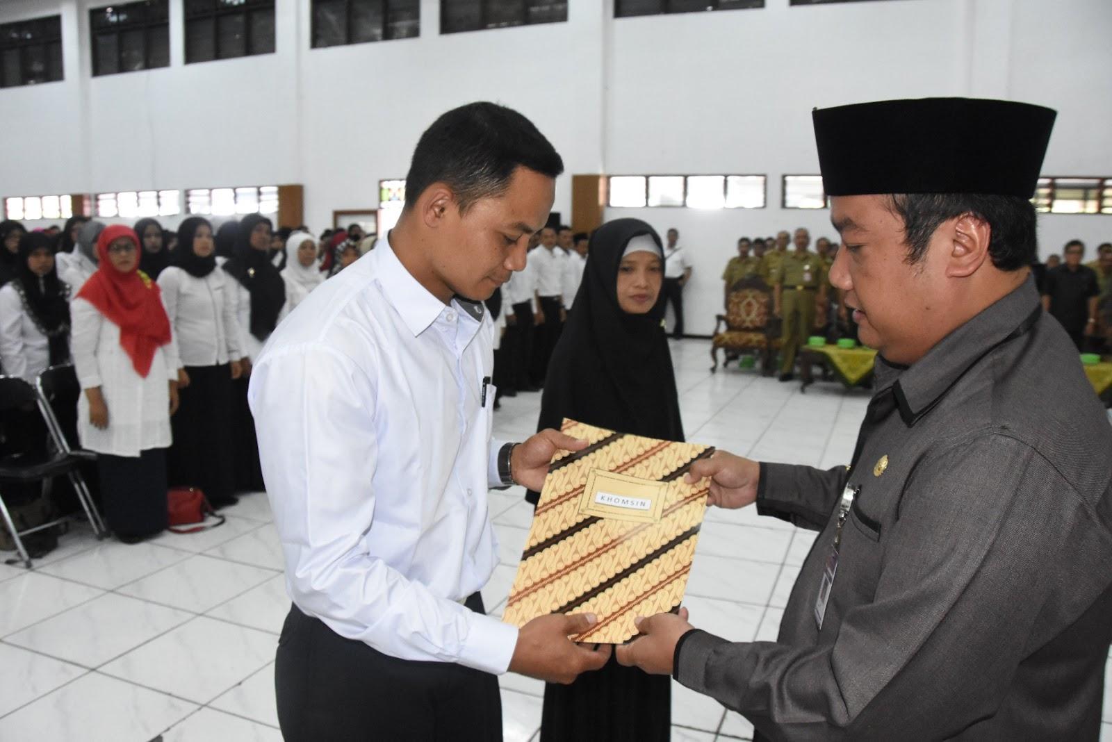 Anggota BPD Se Kabupaten Resmi Dilantik