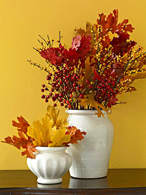Home Christmas Decoration Fall Autumn Crafty Nature