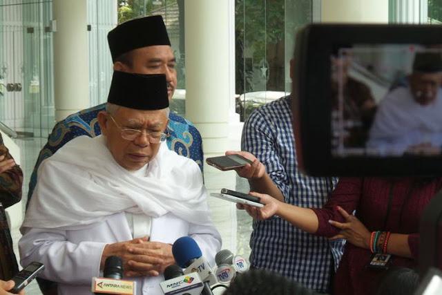 KH Maruf Amin: Jangan Demo Umat Buddha di Indonesia dengan Alasan Myanmar