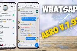 WhatsApp Mod Terbaru Aero V.7.92 Apk 2019