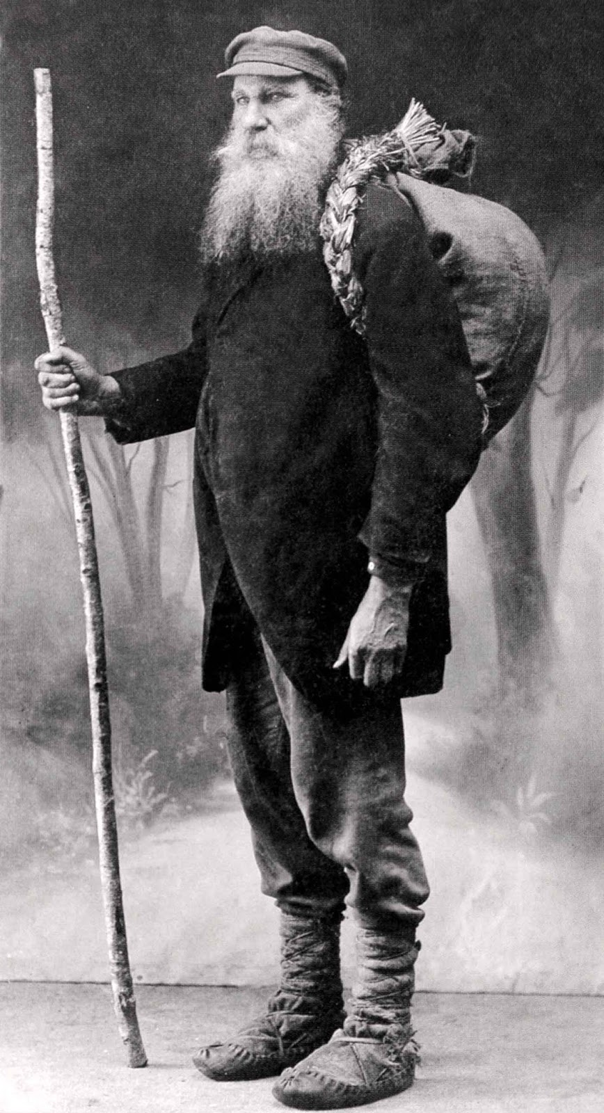 The famous book smuggler (knygnešys) Vincas Juska.