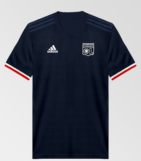 Stunning Olympique Lyon 17-18 Away Kit Concept by cenkunl - Footy ... 682303279