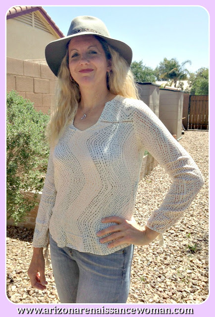 Lovestitch Bohemian Dreams Top - Golden Tote Review - March 2016