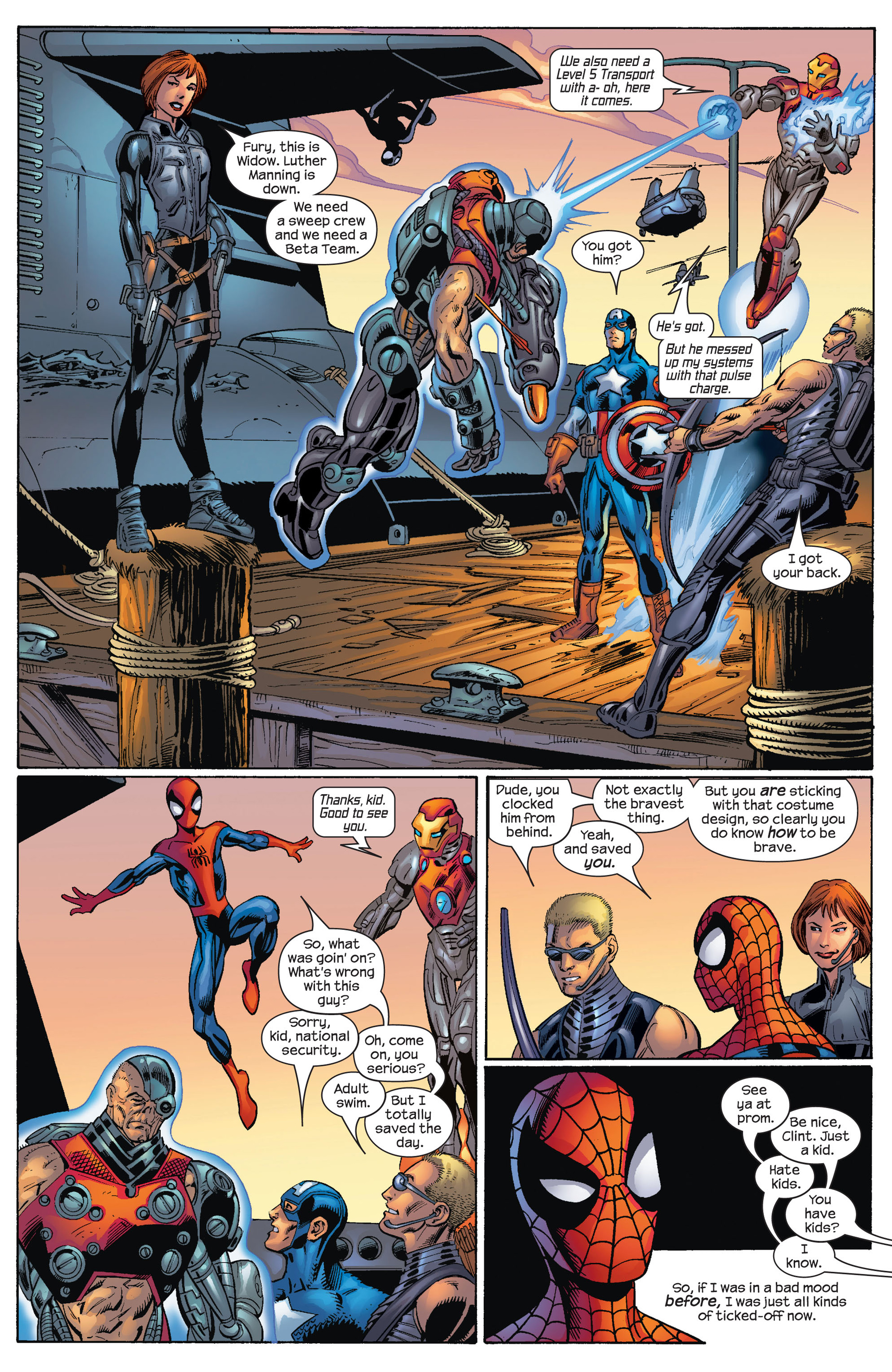 Read online Ultimate Spider-Man (2000) comic -  Issue #70 - 8