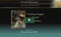 macd stock indicator for stock trading webinar - technitrader