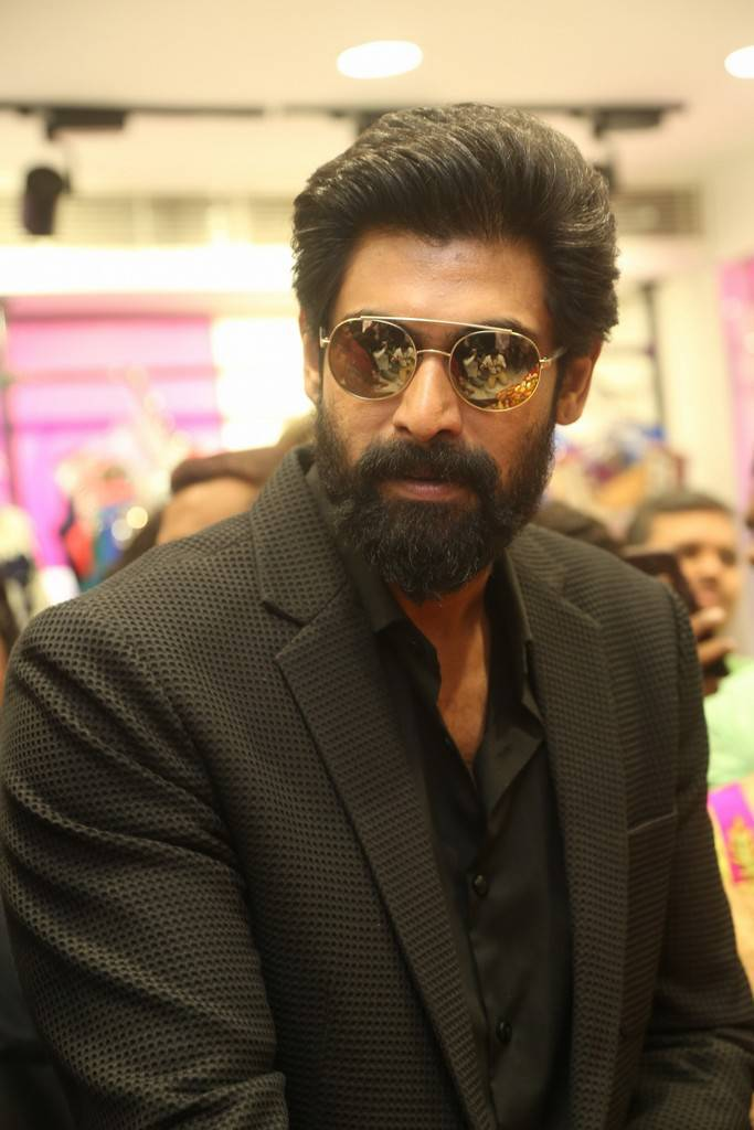 Rana At KLM Fashion Mall Launch Event In Ameerpet