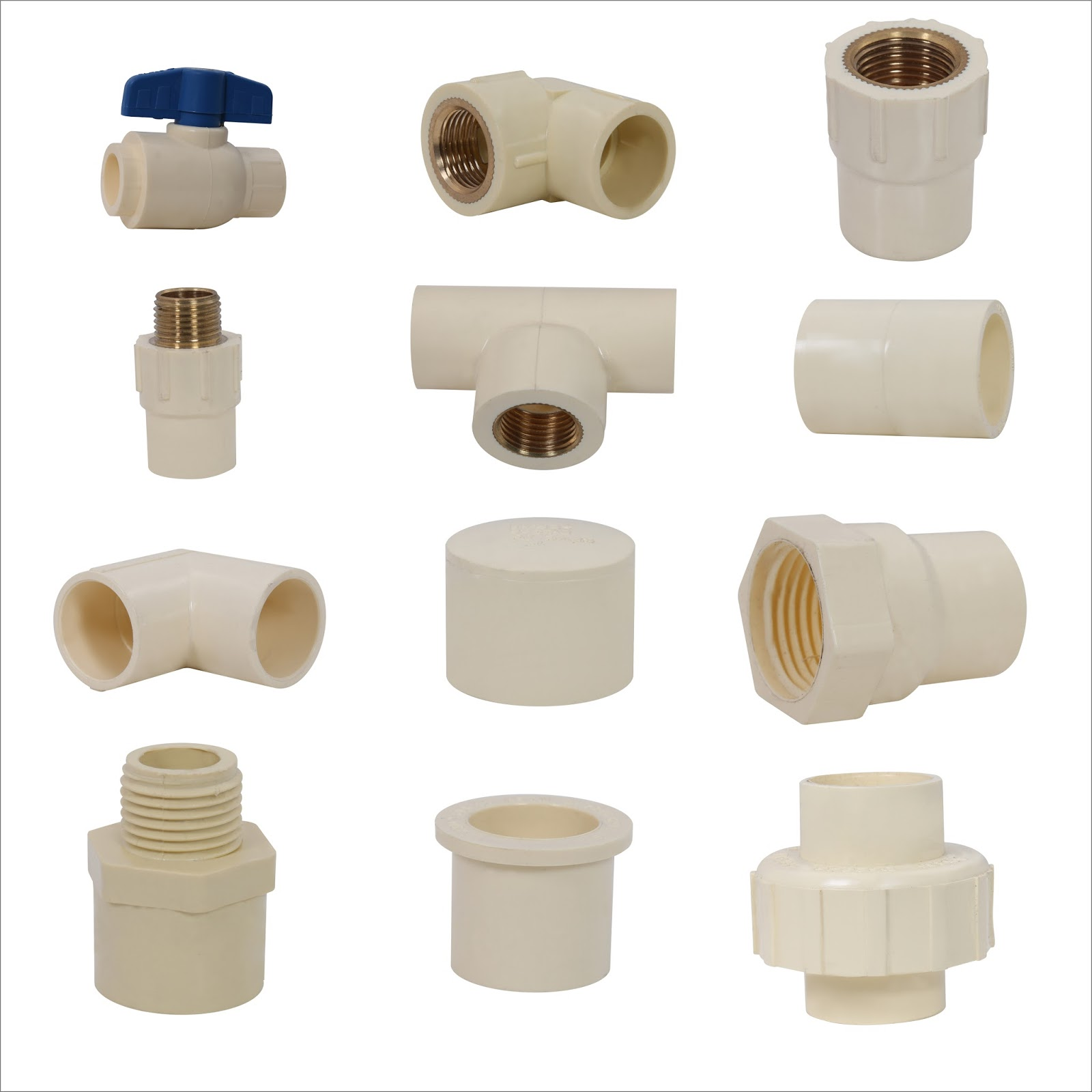Ashok plastic cpvc pipe fitting