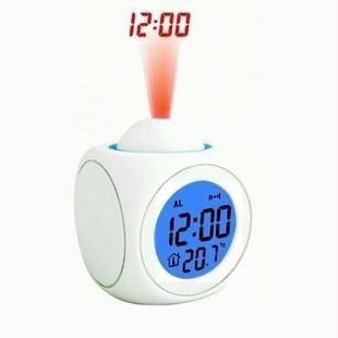 98k - Đồng hồ LCD CLOCK để bàn kiêm đèn chiếu giờ lên tường, trần nhà giá sỉ và lẻ rẻ nhất