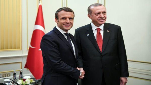 Macron y Erdogan piden respetar integridad territorial de Siria
