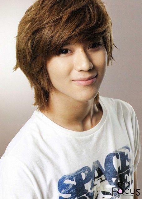 shinee taemin medium brown hairstyles