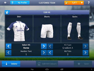 Kits Real Madrid for FTS Android