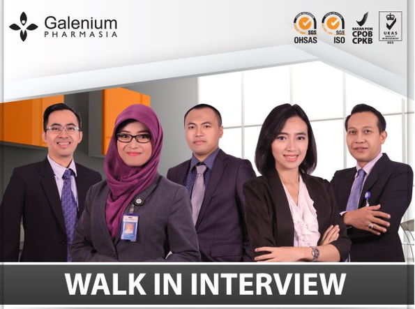 Lowongan Kerja SMA SMK D3 S1 PT. Galenium Pharmasia Laboratories Indonesia, Jobs: Medical Representative, Walk in Interview Medical Representative, Walk in Interview Marketing Representative, Sales Supervisor.
