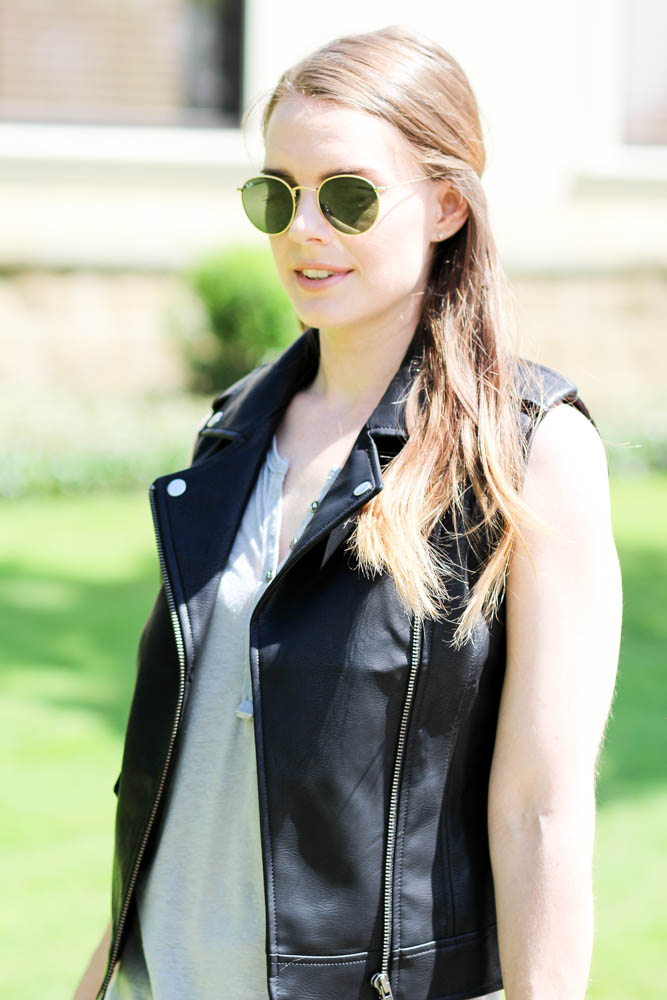 Nordstrom Faux Leather Vest