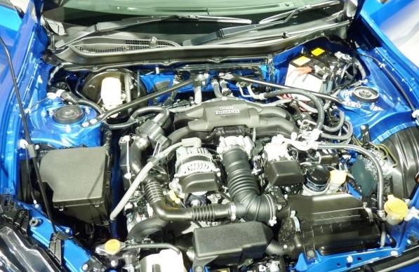 2016 Subaru BRZ STi Engine