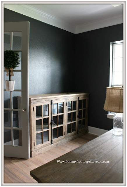 Home Office-Storage Solution-French Sideboard-Design Plan-DIY Office Makeover--From My Front Porch To Yours