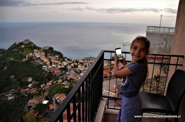 Sycylia z dziećmi- Castelmola