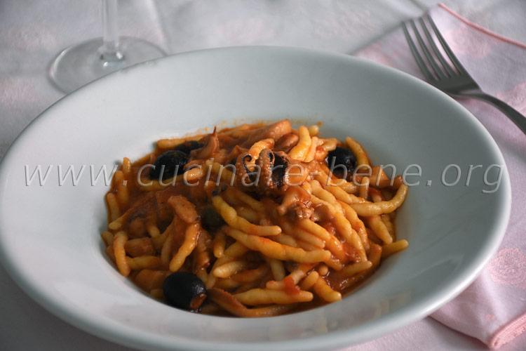 ricetta pasta con le seppie