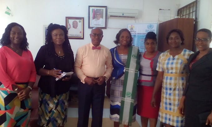 MWAN congratulates Ahukannah on his reappointment as the Hon. commissioner for health (PHOTOS)