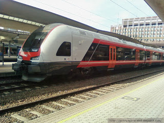 поезд NSB