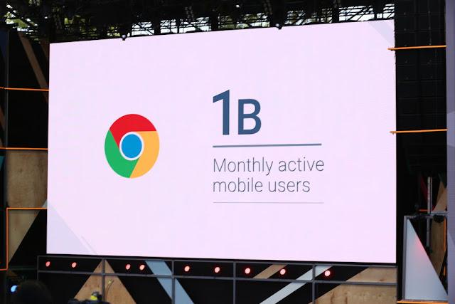 1 Billion users on Google Chrome presentation