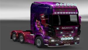 Scania Pink Star