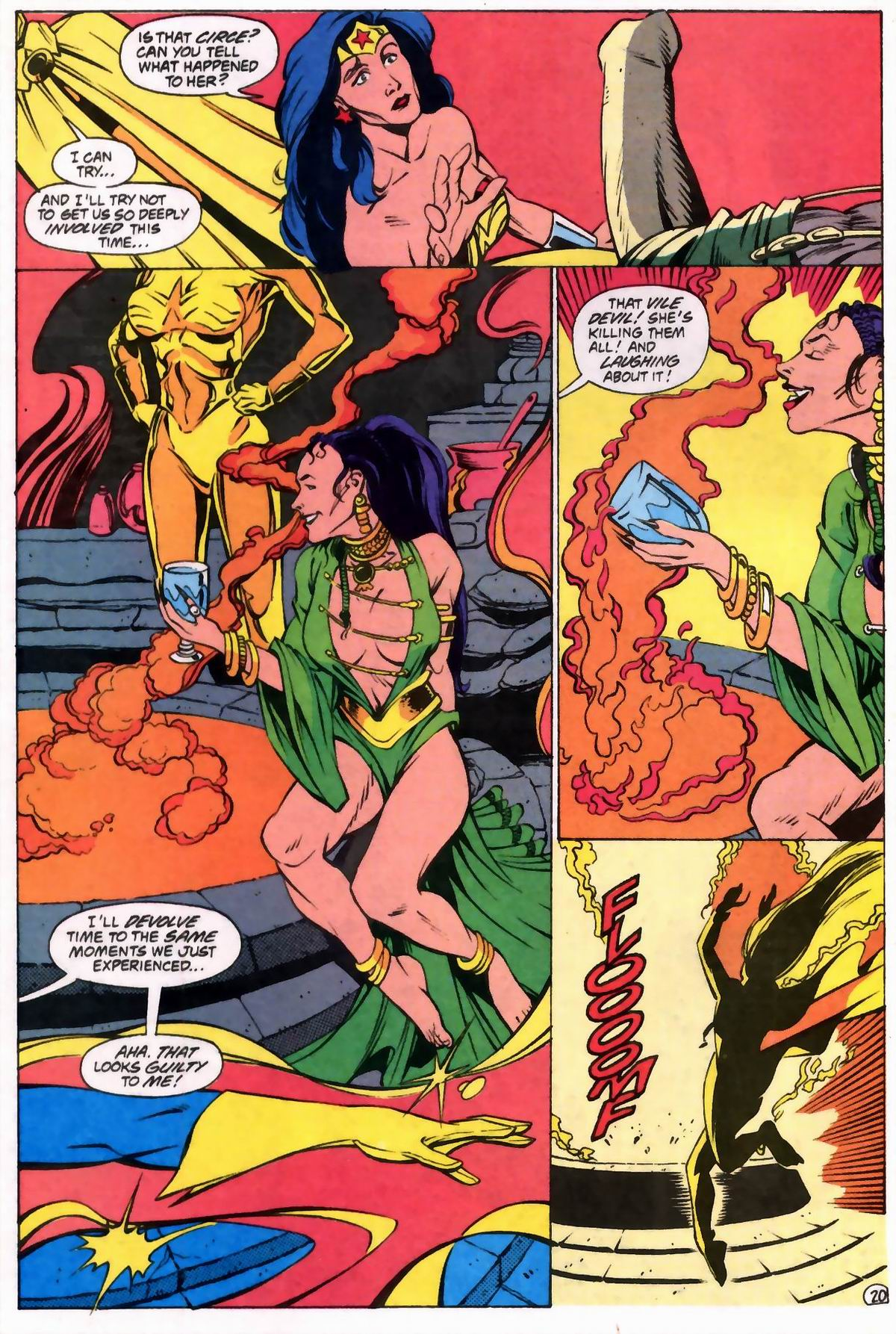 Read online Wonder Woman (1987) comic -  Issue #76 - 20
