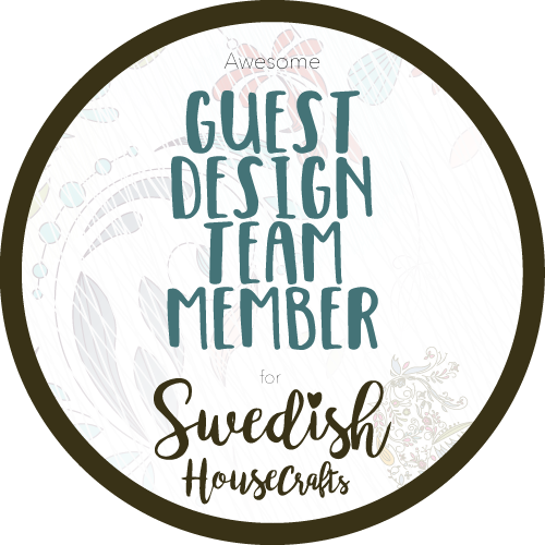 So thrilled to Guest Design for Swedish House Crafts