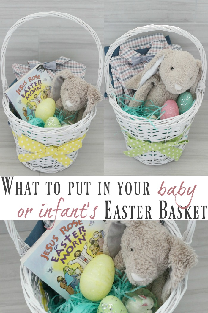 What to put in an Easter basket for a baby or infant