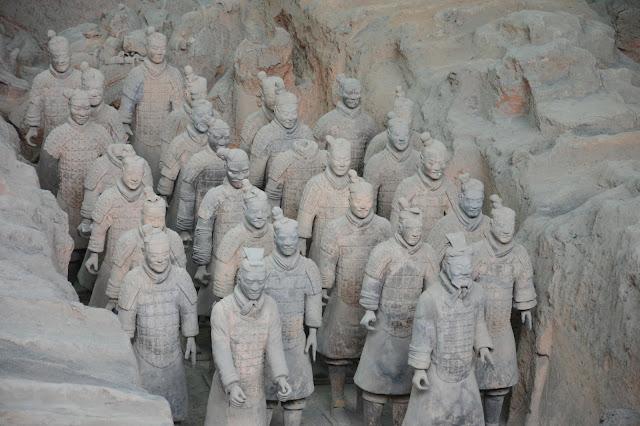 Soldats à Xi'an
