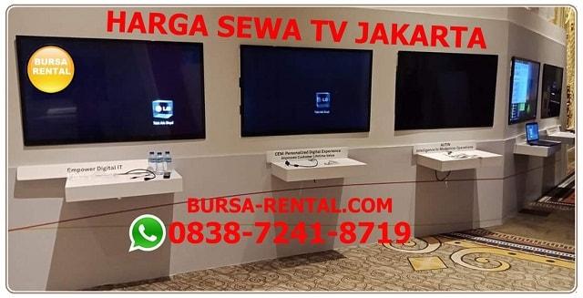 Harga sewa tv Jakarta