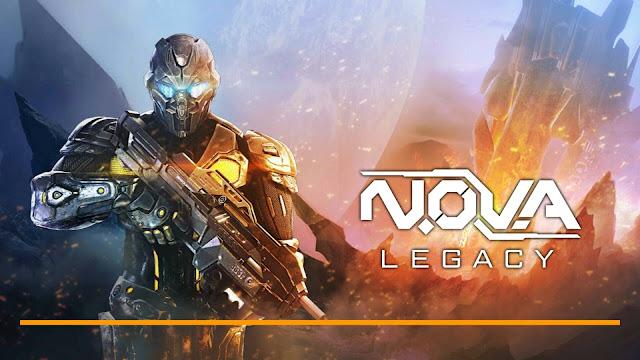 تحميل اللعبة الخرافية N.O.V.A.Legacy v1.0.6 للاندرويد آخر اصدار