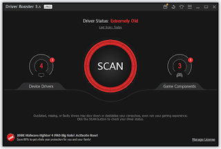 Download IObit Driver Booster PRO + Serial Key
