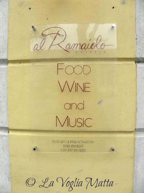 """Al Ramaiolo"" a Trieste"