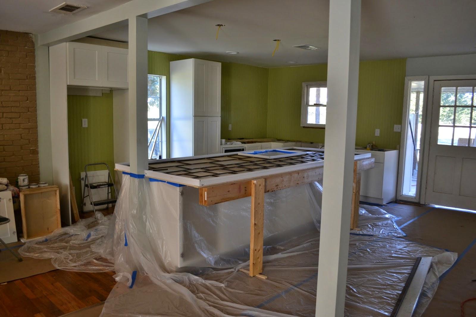 My Stuff Kitchen Reno X Concrete Countertop