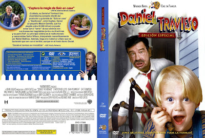 Cover, dvd, carátula:Daniel el travieso | 1993 | Dennis the Menace