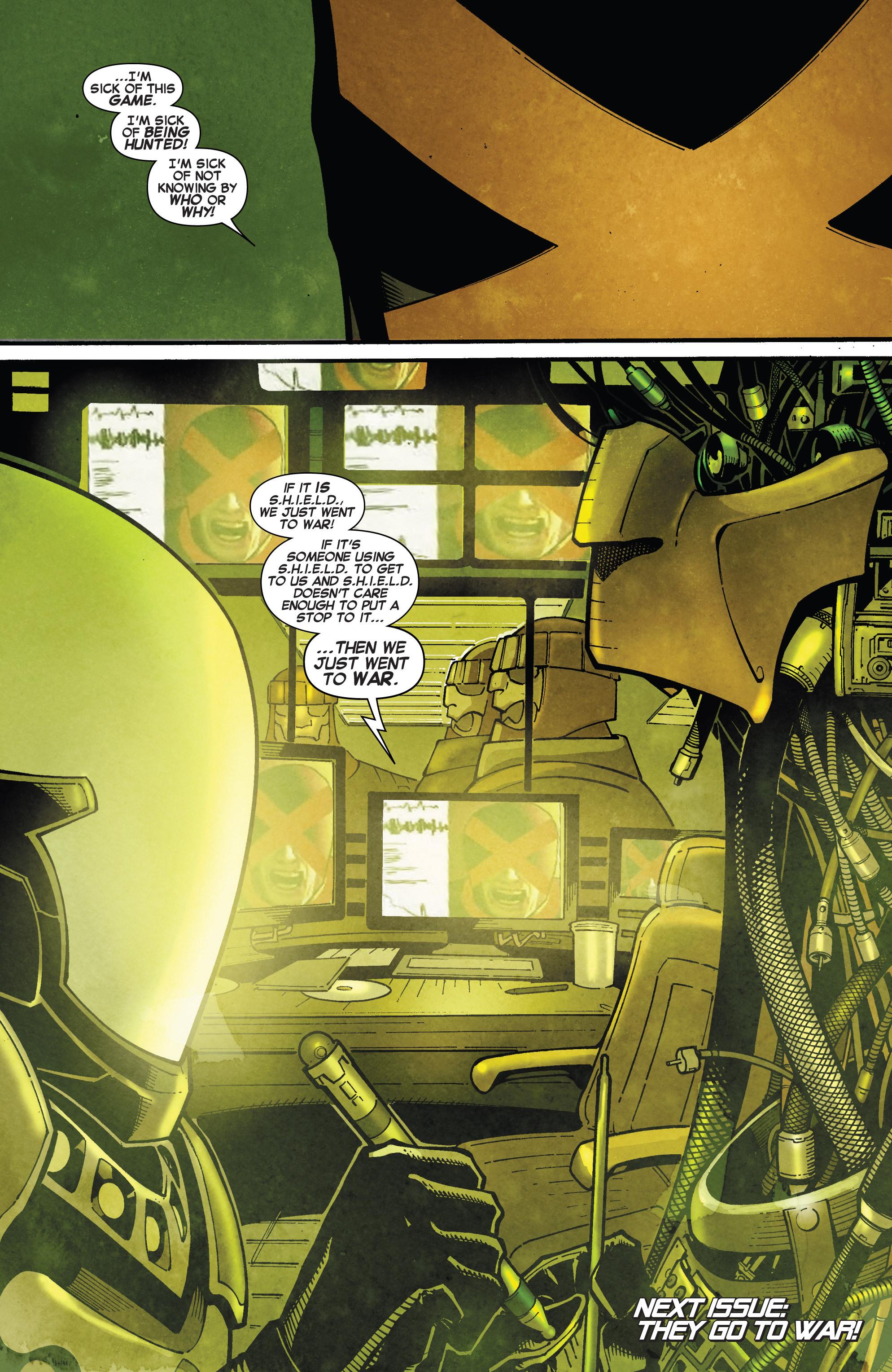Read online Uncanny X-Men (2013) comic -  Issue # _TPB 4 - vs. S.H.I.E.L.D - 20