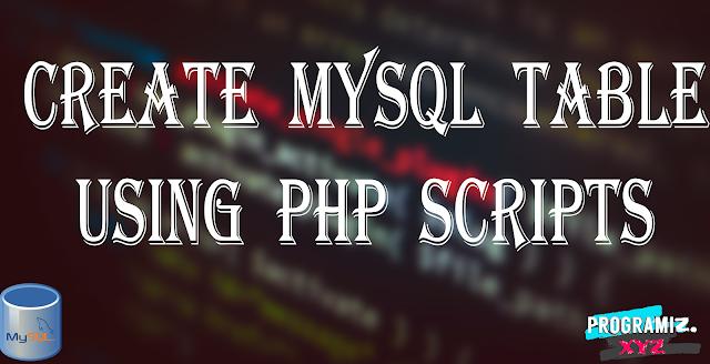 How to Create MySQL Tables?
