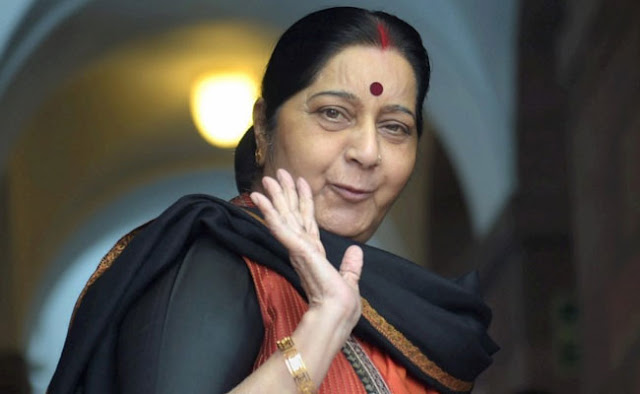 Sushma assured India's cooperation for political stability in Nepal