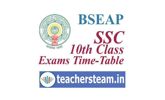 SSC Exams Time-Table