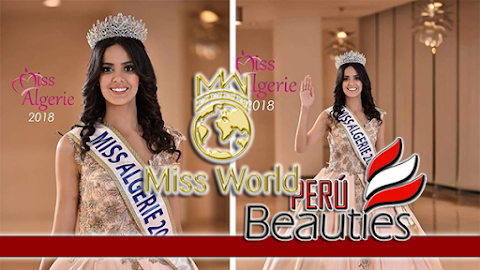 Miss World Algeria 2018