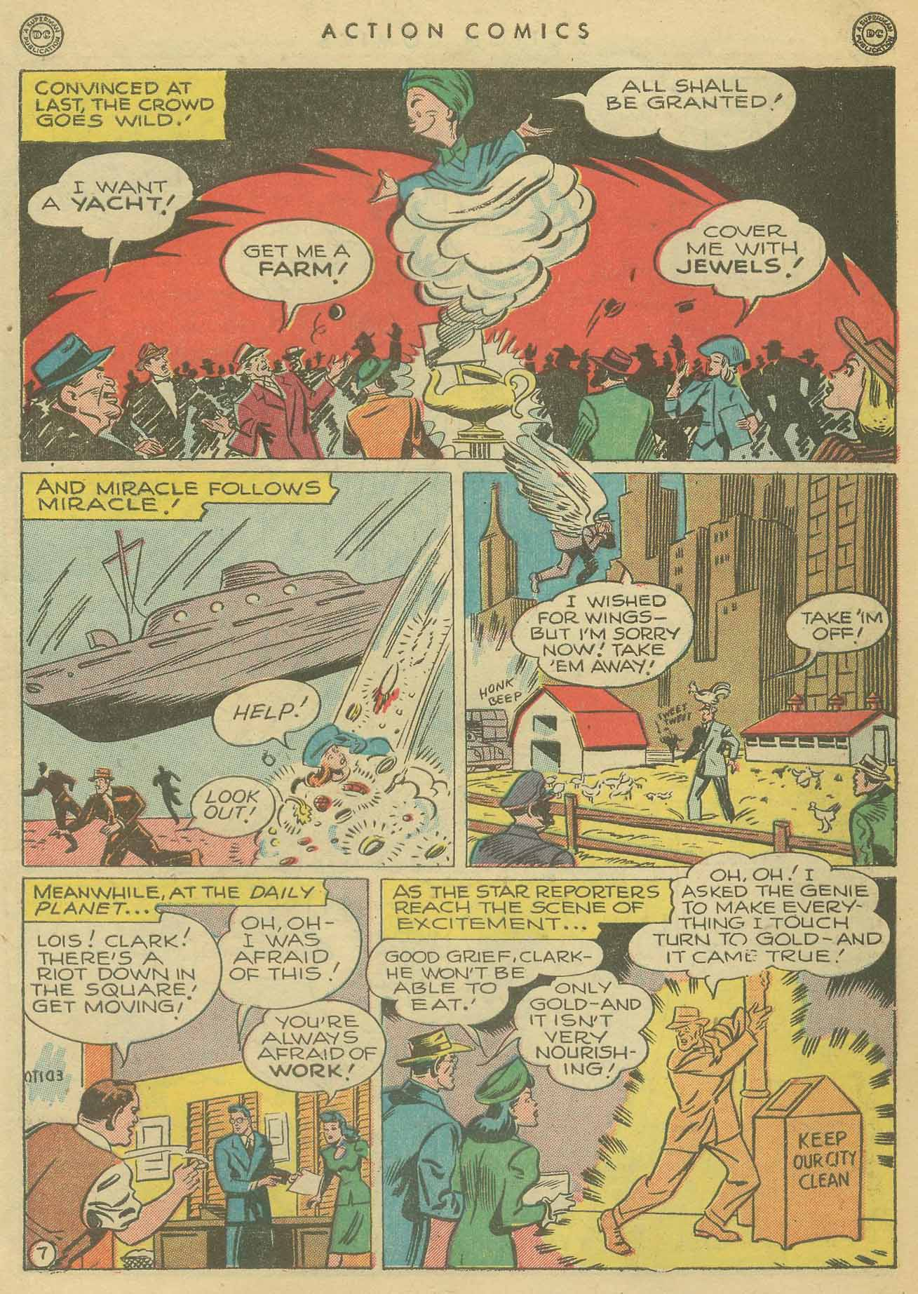 Read online Action Comics (1938) comic -  Issue #102 - 8