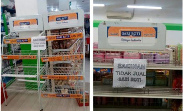 GNPF Serukan Umat Islam Boikot Sari Roti, Ternyata Ini Alasannya...