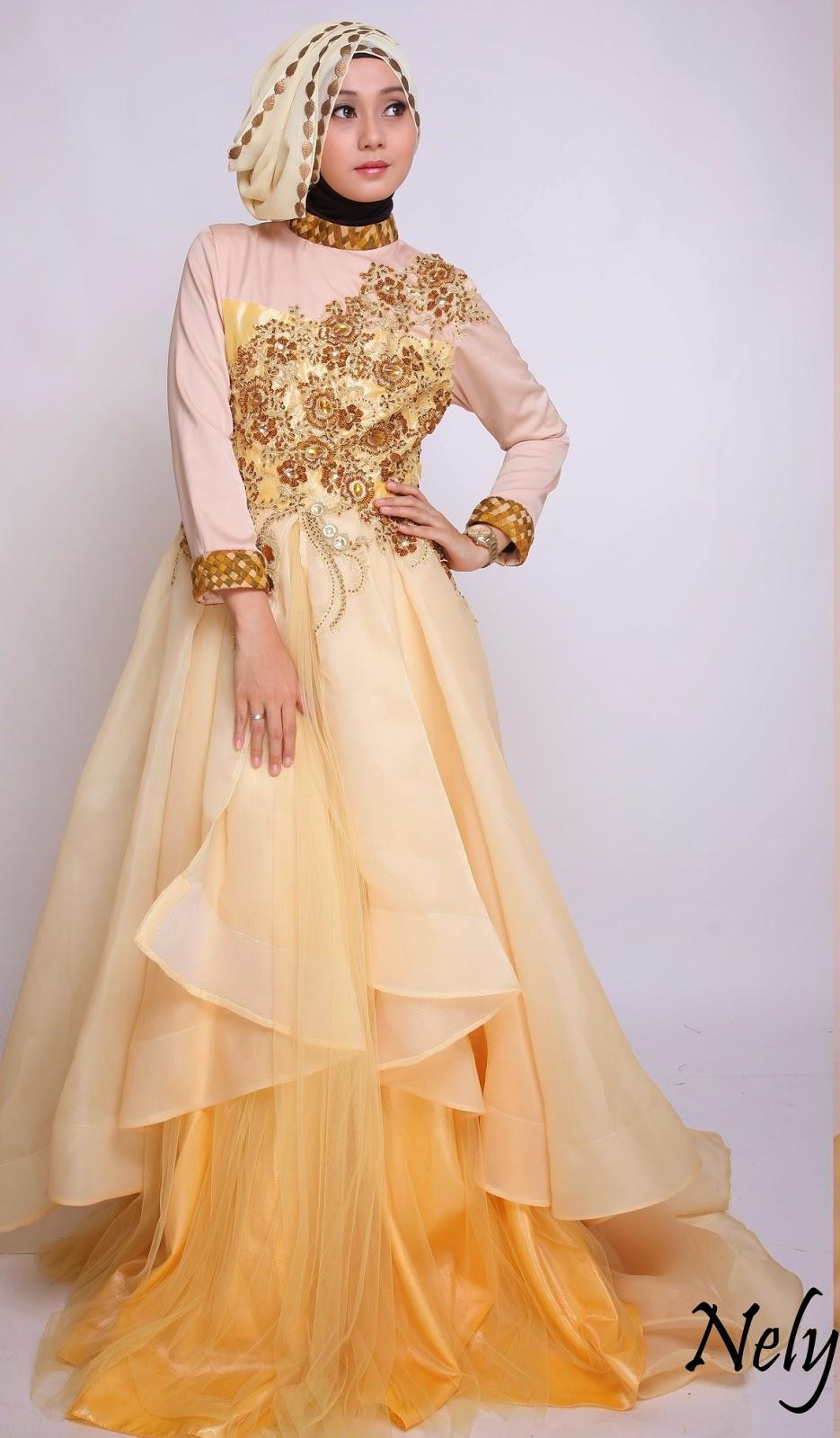Model Kebaya Muslim Pengantin 2015