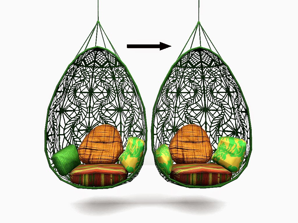 Hanging Chair The Sims 4 Retro Metal Garden Chairs My 3 Blog Wonderfully Woven