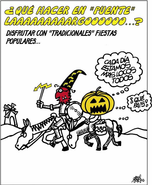 Humor en cápsulas. Para hoy martes, 1 de noviembre de 2016