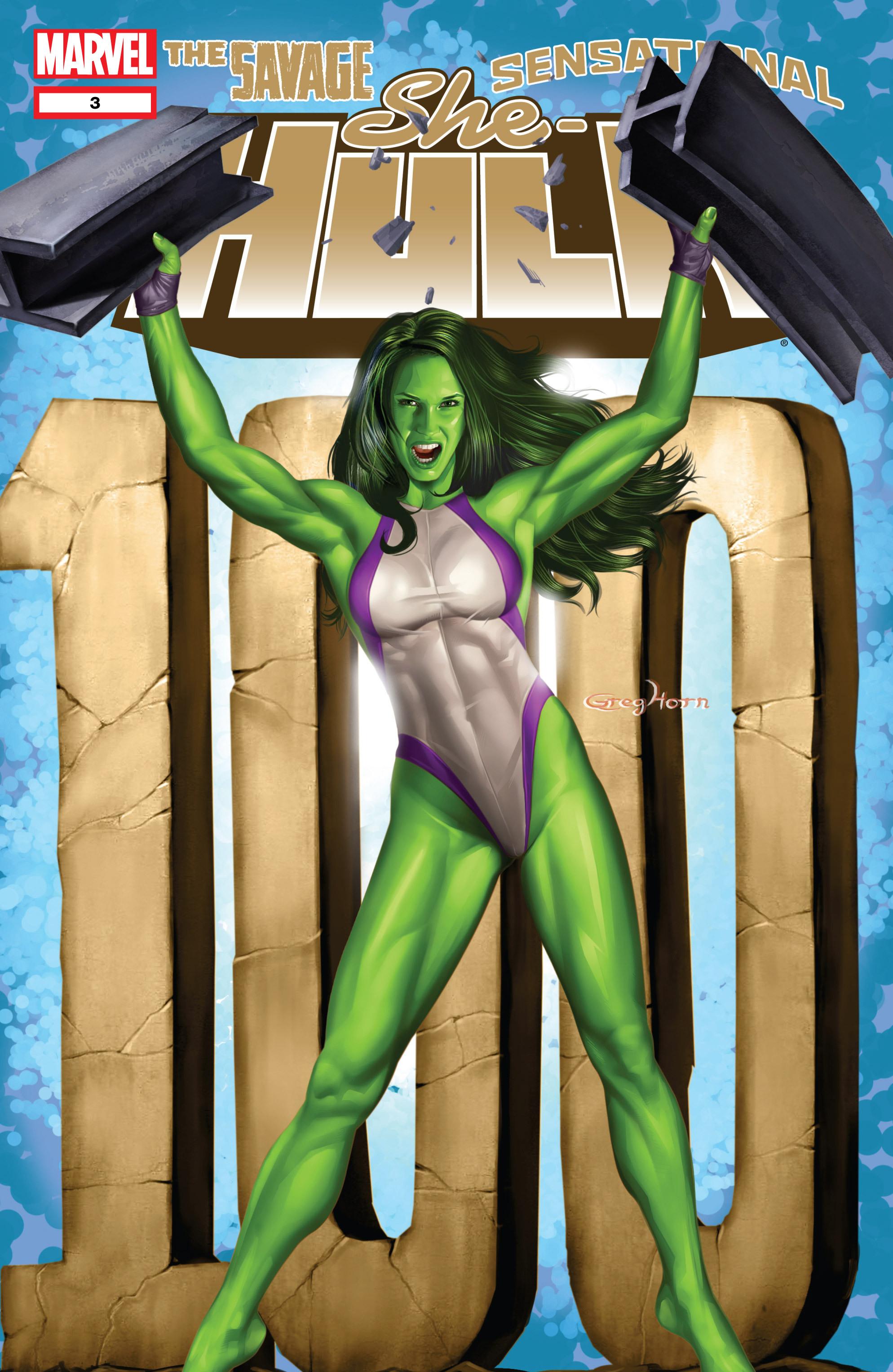 Read online She-Hulk (2005) comic -  Issue #3 - 1