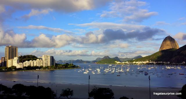 Rio de Janeiro - Enseada de Botafogo e o Pão de Açúcar